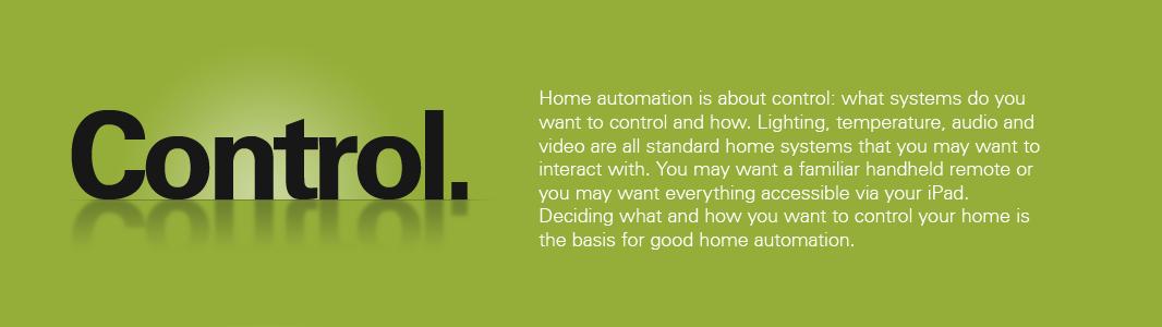 Scottsdale Home automation is about control: what systems do you want to control and how. Let Kinetic Home Automation in Scottsdale help you control your home with lighting automation, audio distribution, security automation, hvac and climate control and much more.